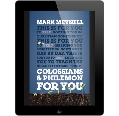 Colossians philemon for you ebook mark meynell the good book colossians philemon for you ebook fandeluxe Gallery