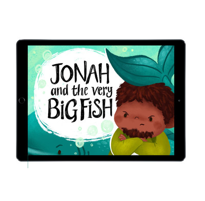 Download the full-size illustrations - Jonah and the Very Big Fish