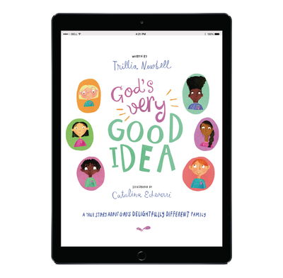 Download the full size illustrations - God's Very Good Idea