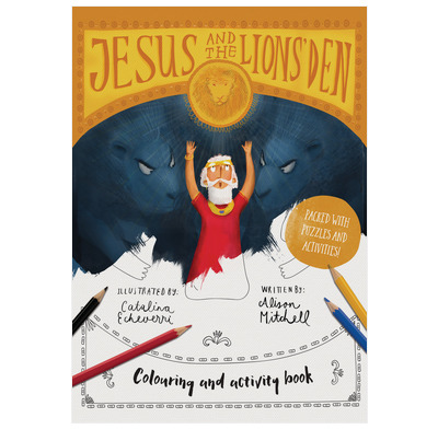 Jesus & the Lions' Den Colouring and Activity Book