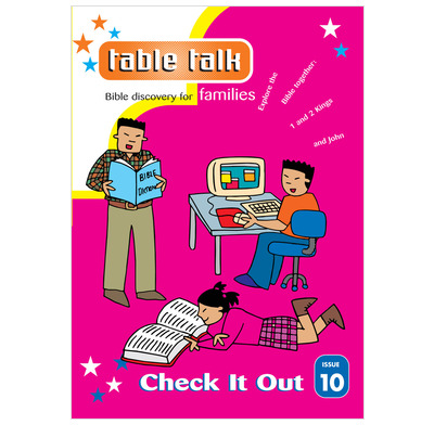 Table Talk 10:  Check It Out